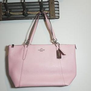Coach AVA Zipper Pink  Bag
